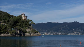 Coastline near Portofino Royalty Free Stock Photography