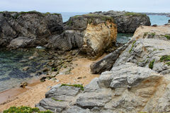 Coastline near Quiberon, Brittany, France Stock Images