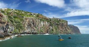 Coastline near Ribeira Brava (Madeira, Portugal) Stock Images