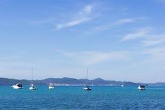 Coastline near Seget Vranjica. Croatia Stock Images
