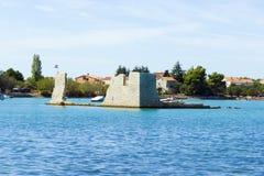 Coastline near Seget Vranjica. Croatia Stock Image