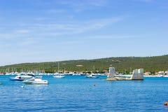 Coastline near Seget Vranjica. Croatia Stock Photo