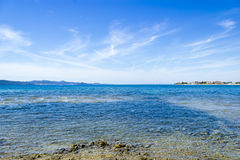 Coastline near Seget Vranjica. Croatia Stock Photography