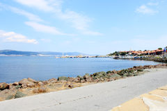 Coastline in Nessebar Stock Photography