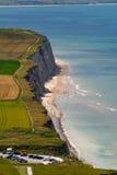 Coastline of the North Sea Stock Photo