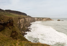 Coastline of Northern Ireland Antrim Royalty Free Stock Photo