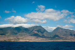 Coastline of northern Maui Stock Images