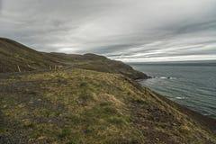 Trollaskagi Peninsula Coast royalty free stock image