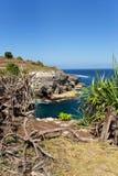 Coastline at Nusa Penida island Royalty Free Stock Photography
