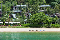 Coastline od Andaman sea Royalty Free Stock Photography
