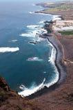 Coastline Of Tenerife Royalty Free Stock Photos