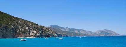 Coastline panorama Royalty Free Stock Photos