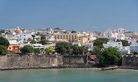 Coastline Panorama. Of San Juan, Puerto Rico Stock Image