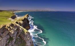 Coastline panorama Royalty Free Stock Image