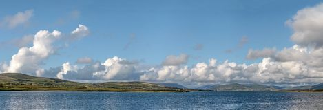 Coastline panorama near Portmagee Stock Photography