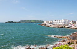 Coastline in Plymouth Stock Image