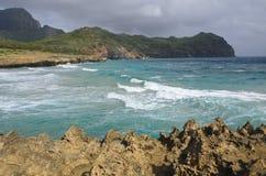 Coastline, Poipu Beach, Kauai Royalty Free Stock Photography