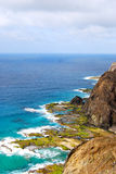 Coastline Porto Santo Island, Madeira Stock Photos