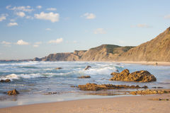 Coastline in Portugal Stock Images