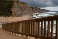 Coastline Portugal stock images