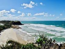 Coastline in Queensland, Australia royalty free stock image