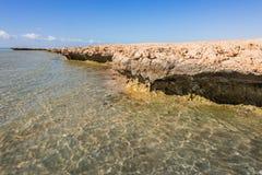 Coastline in Ras Mohamed National Park Royalty Free Stock Photo