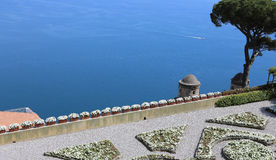 Coastline in Ravello, Amalfi coast, italy Stock Photos