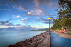 Coastline in Reunion Island Stock Images