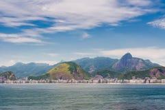 Coastline of the Rio de Janeiro, Brazil Royalty Free Stock Photos