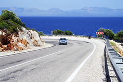Coastline road Royalty Free Stock Photography