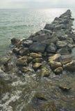 Coastline Rocks Royalty Free Stock Photos
