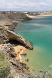 Coastline of Sagres Stock Image