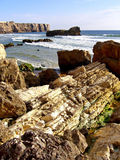 Coastline of Sagres Royalty Free Stock Image