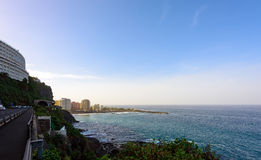 Coastline of Santa Cruz town on Tenerife island, Spain Stock Photography