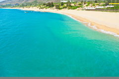 Coastline of Sanya, China Royalty Free Stock Images