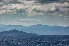 Coastline of Sardinia near Sant Teresa Gallura Royalty Free Stock Images