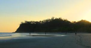 Coastline scene in Costa Rica 4K. A Coastline scene in Costa Rica 4K stock video footage