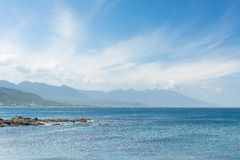 Coastline scenery Royalty Free Stock Images