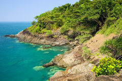 Coastline Scenery in Thailand Stock Photo