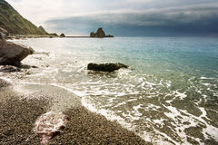 Coastline. Sestri Levante. Liguria, Italy Stock Photo