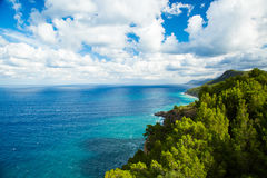 Coastline, Sierra de Tramuntana, Mallorca Royalty Free Stock Photo