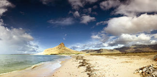 Coastline in Socotra Stock Photos