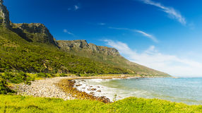 Coastline In South Africa Royalty Free Stock Photo