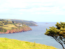 Coastline of South Hams, Devon. Stock Image