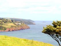 Coastline of South Hams, Devon. Stock Image