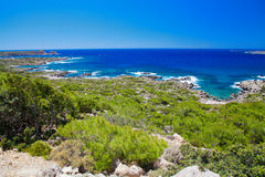 Coastline at the south-west Crete Stock Photo