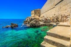 Coastline in southern Croatia, Europe. Stock Photo