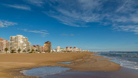 Coastline in Spain Royalty Free Stock Images