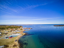 Coastline in spring, middle Norway royalty free stock images