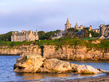 Coastline in St. Andrews. Rocky coastline in St. Andrews Royalty Free Stock Photography